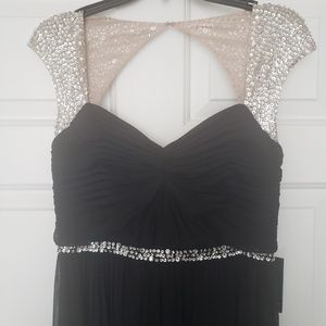 Adrianna Papell Black Gown